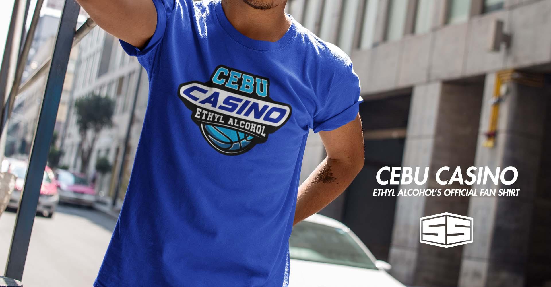 Smartieshirt Cebu Casino TShirt