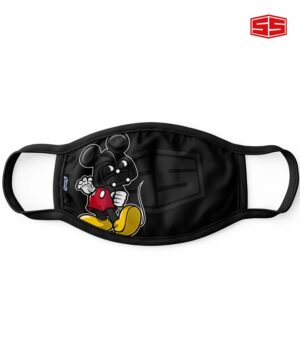 Smartieshirt Flat Mask Darth Vader Mickey Mouse