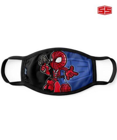 Smartieshirt Flat Mask Deadpool Spider-man