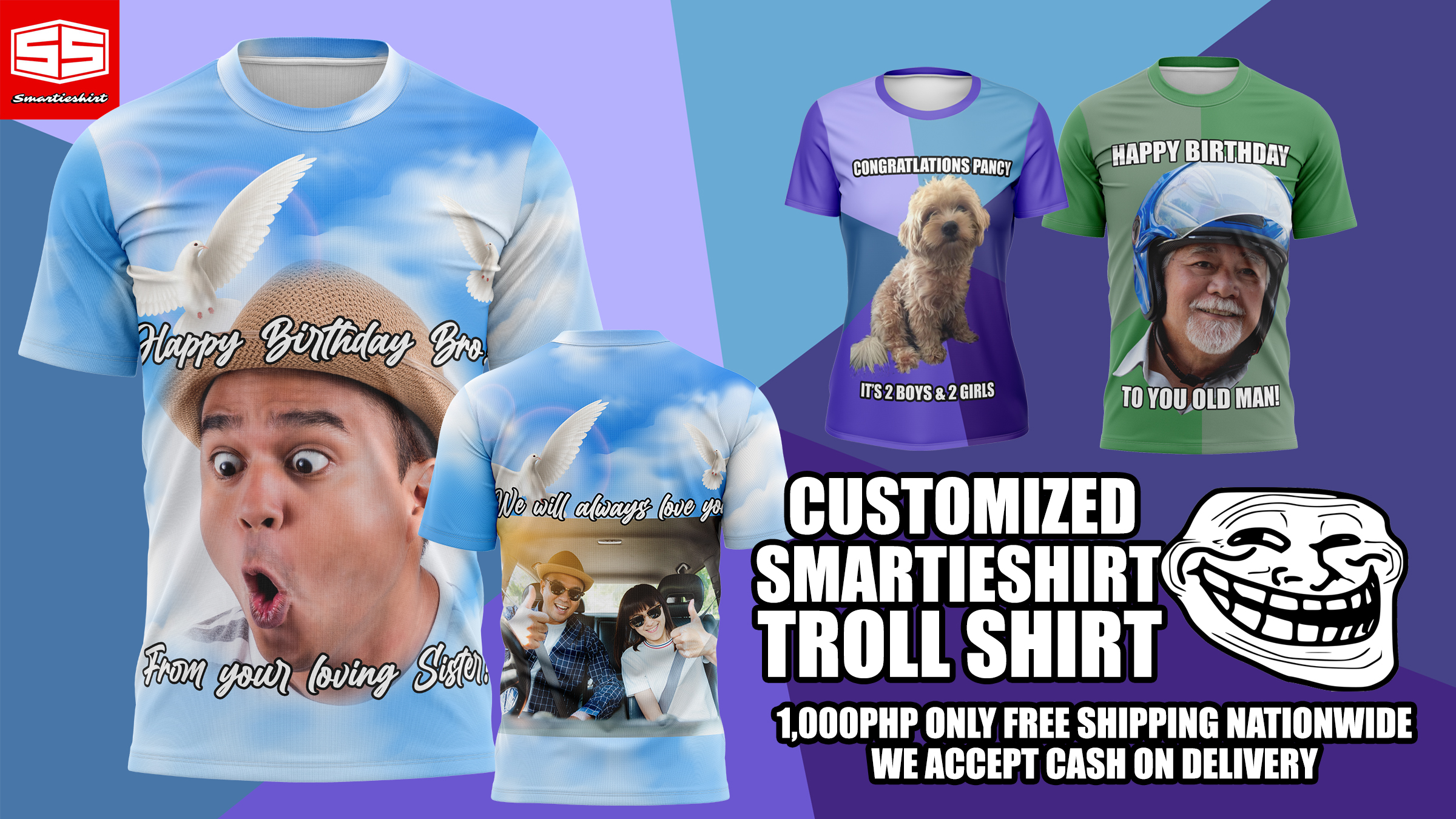 Smartieshirt Troll Shirt