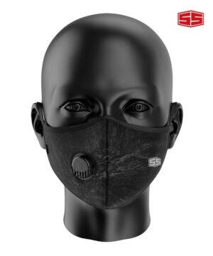 Smartieshirt Leather Face Mask