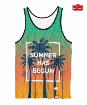 Smartieshirt Summer Has Begun Tank Top