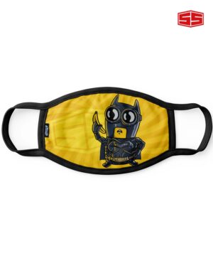 Smartieshirt Flat Mask Batman Minion