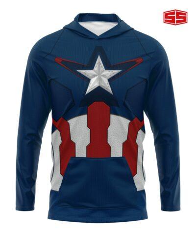 Smarties Supershirt Hoodie Captain America