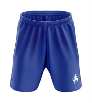 blue shorts front