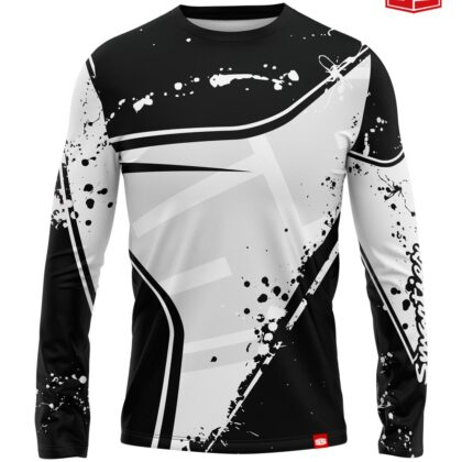 Personalized Smarties Black and White Long Sleeves Jersey