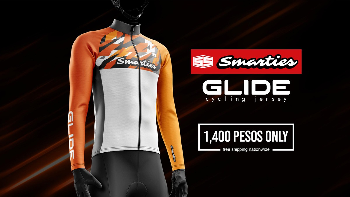 Smarties Apparel Glide Cycling Jersey