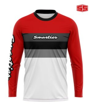 Smarties Apparel Red and White
