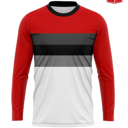 Personalized Smarties Red and White Sleeves Jersey