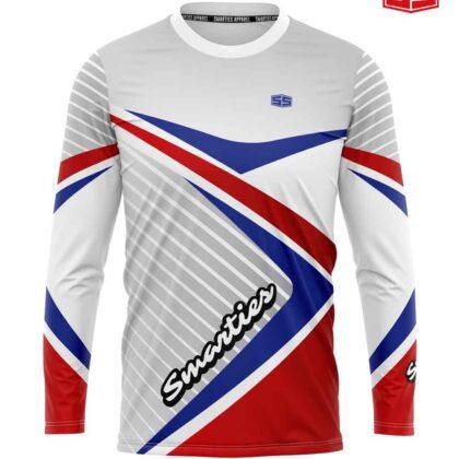 Smarties Apparel Motorcycle Jersey Patriotic